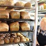 Boulangerie cuisinée sur place à partir de farine biologique québécoise