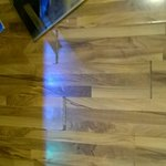 Bar floor, joints coming apart.