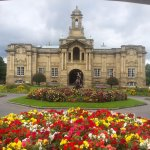 Cartwright Hall and gardens