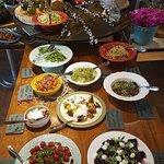 O buffet do almoço no Factório é servido das 12h às 16h