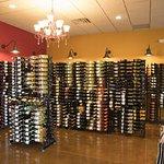 Part of Vino Latte - Wausau's wine selection