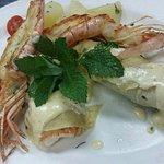 Seafood Crepes Mornay