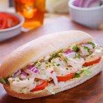 Shrimp Remoulade Sandwich