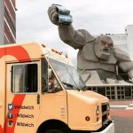 Wildiwich Food Truck at the Monster Mile