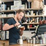 Barista à La boite à café