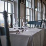 Ocean view dining room.