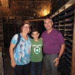 Wine tasting at the ancient wine cellar Spirito di Vino