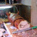 Best porchetta ever at Norcineria Lacozzilli