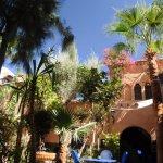 Au coeur du jardin de Dar Daïf, une oasis