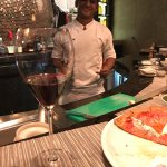 The best pizza in town and no one does it better than Chef Omar #alwayssmiling #keepingitreal!