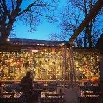 The garden on a summer's evening: Al fresco dining