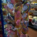 Interesting assortment of kiddies lollies