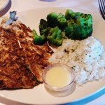 grilled rainbow trout, Bonefish Grill, Bower Parkway, Columbia, SC, Sep 2017