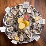 [Oyster Platter] Featuring oysters from across the globe, ask our staff for what's available tod