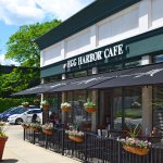 Beautiful day at Egg Harbor Cafe in Wheaton