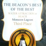 Third Place at 2017 The Beacon's Best of the Best competition!