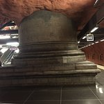 Guided Art Tours in the Stockholm Metro Foto