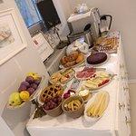 breakfast spread by Ena