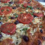 Our Seasons pizza features the best local products of the season.