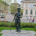 Photo de Charlie Chaplin Statue