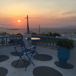 Rear Terrace 'Sunset'