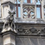 Each gargoyle was different, some real animals, others not