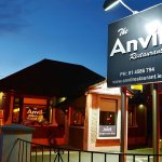 The Anvil Restaurant open for breakfast, lunch & dinner.