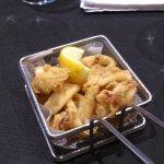 starter - fried beach calamari