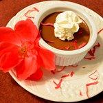 Chocolate Rose Petal Pots du Creme