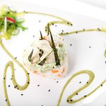 Deconstructed California Roll Appetizer