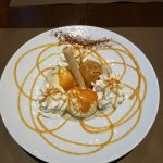 """Dessert : Glace """"Carnacoise"""" (Vanille, Caramel beurre salé, un vrai délice)"""