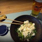 crab and seaweed starter
