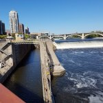 lock and St. Anthony falls