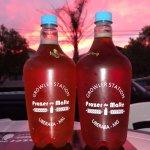 Pôr do sol e Red Ale. Combinação perfeita.