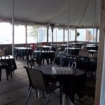 Screened and covered outdoor Patio for your dining pleasure