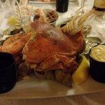 Entrée assiette de fruits mer