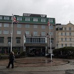 Wet and Windy day at this excellent Hotel, great rooms, staff and food.