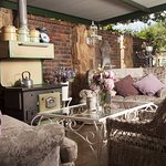 Quaint, country-style setting