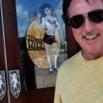 ROSARIO CASSATA AT THE TILTED KILT IN CLARKSVILLE, TENNESSEE.