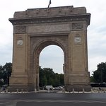 the Arch from Bucharest, 27 m height