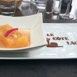 dessert personnalisé - gelée d'agrumes
