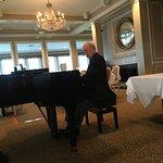Robert Bahr at the piano