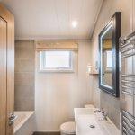 New cabin bathroom