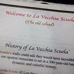 La Vecchia Scuola History