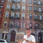 Tim Barber from Real Yorkshire Tours at Led Zeppelin album cover location