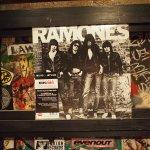 The Ramones album for sale in shop on former CBGBs site