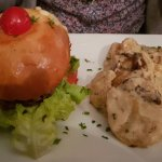 Burger Savoyard Gratin Dauphinois