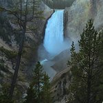 Lower Falls, Yellowstone National Park, Red Rock Point