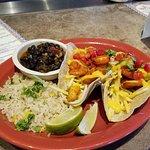 Ribs and Shrimp Tacos