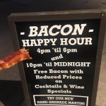 Bacon Happy Hour - can't go wrong!